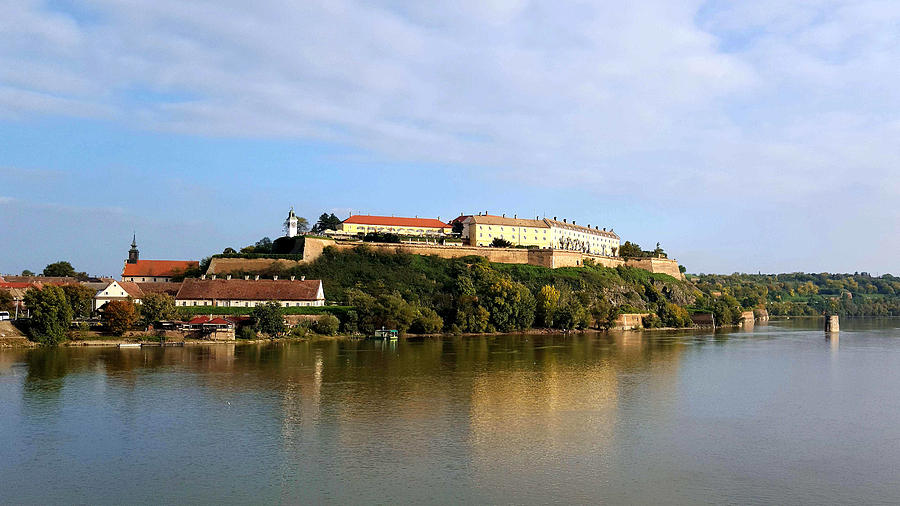 view at petrovaradin fortress near novi sad ambasador